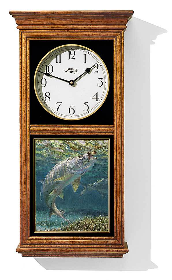 Tarpon Regulator Clock