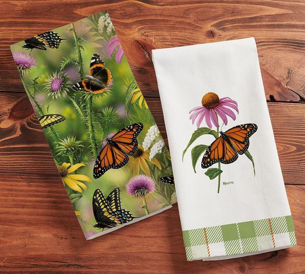 <I>Butterflies</i> Tea Towels