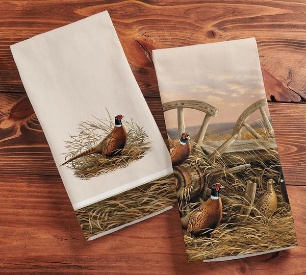 Rustic Retreat—Pheasants.