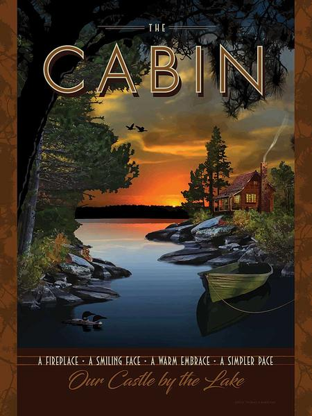 The Cabin Art Collection