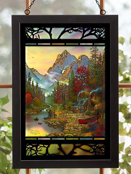<I>The Good Life</i> Stained Glass Art