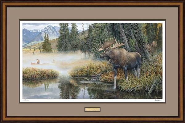 Good Old Ways-Moose Art Collection