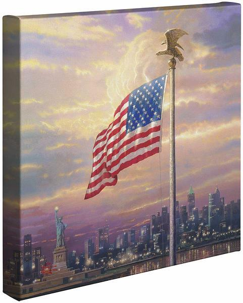 The Light Of Freedom Gallery Wrapped Canvas
