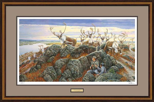 Lucky Break-Caribou Limited Edition Print