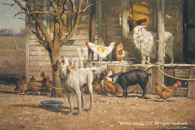 <I>The Neighbors&mdash;farm Animals</i> Limited Edition Print<Br/>16H X 24W Art Collection