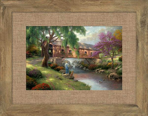 The Old Fishin Hole Framed Print
