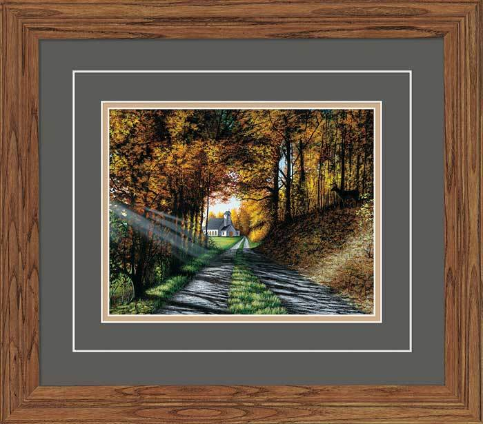 <I>The Roads We Choose</i> Gna Deluxe Framed Print<Br/>16.25H X 18.5W Art Collection