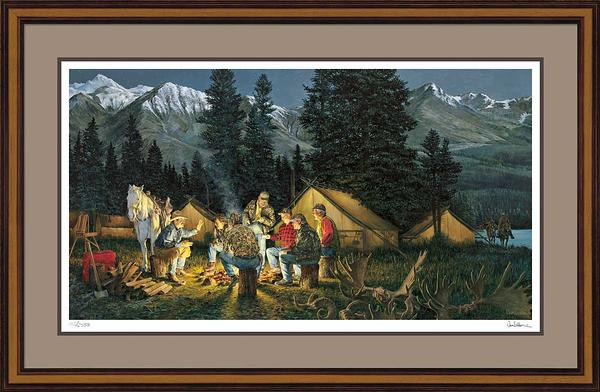 Tales We Tell-Camping Limited Edition Print