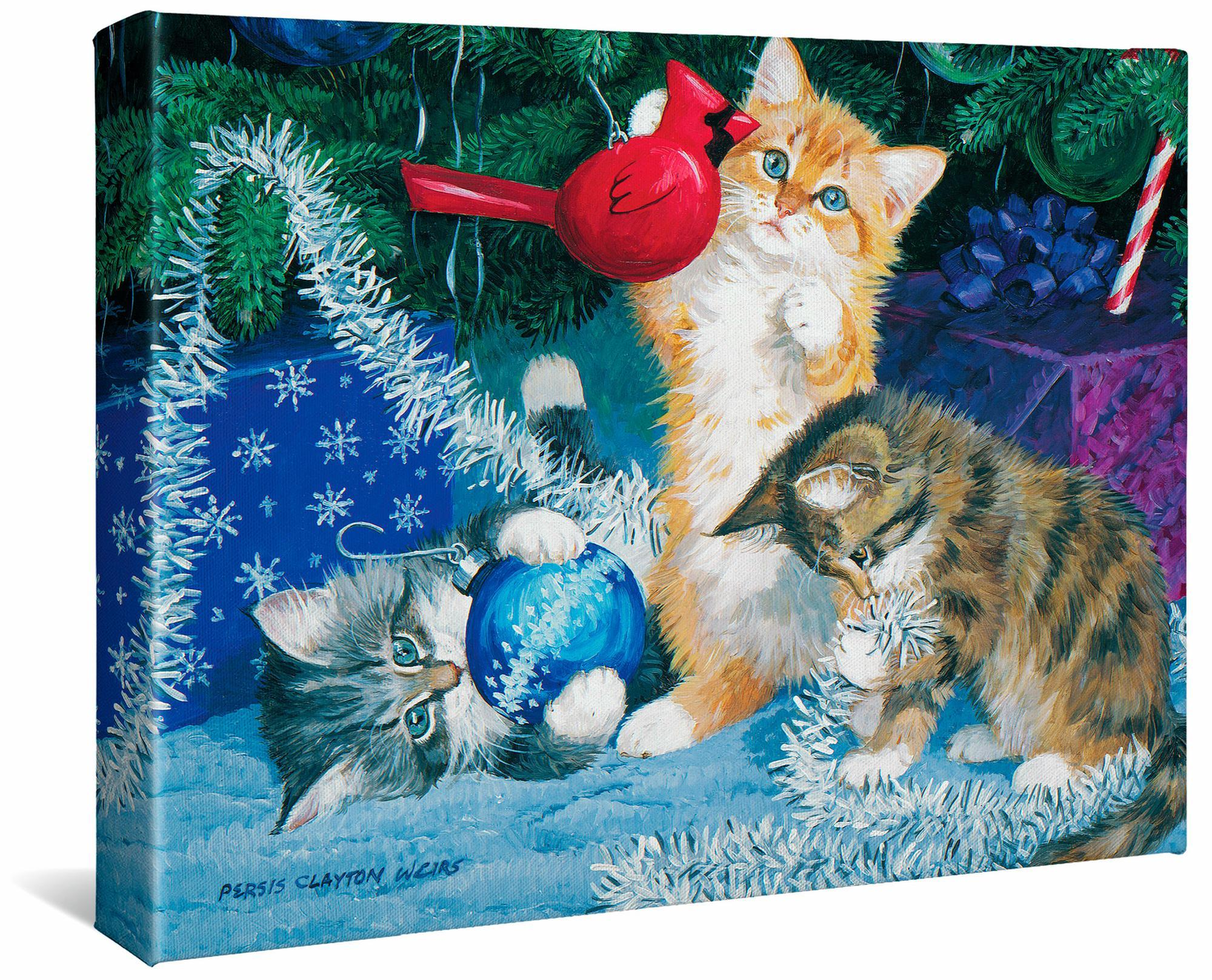 The Undecorators-Kittens Gallery Wrapped Canvas