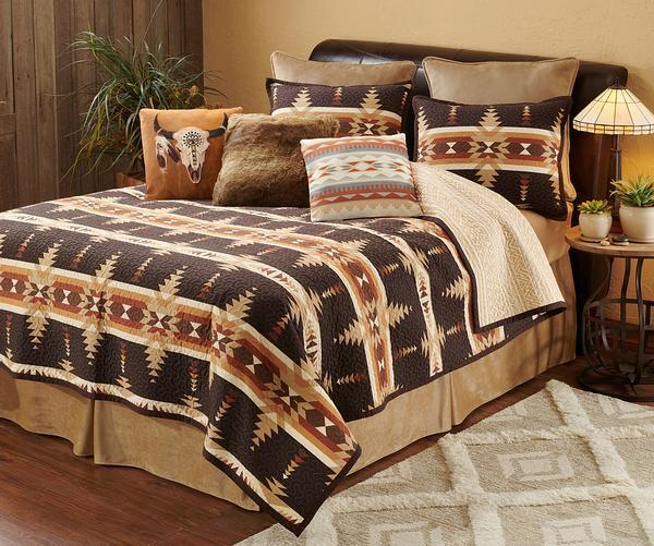 Trading Post Timber Bedding Collection