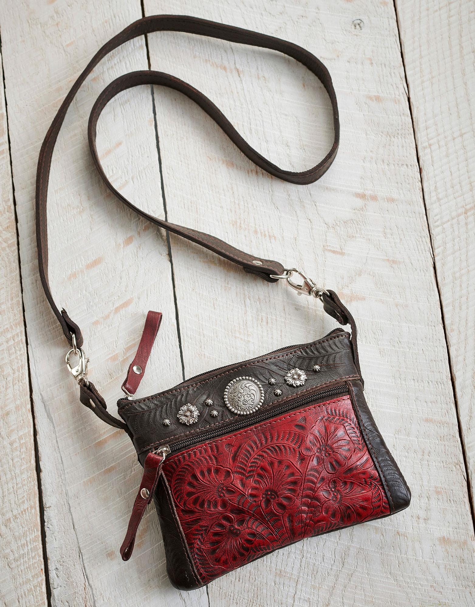 Trail Rider Crossbody Handbag