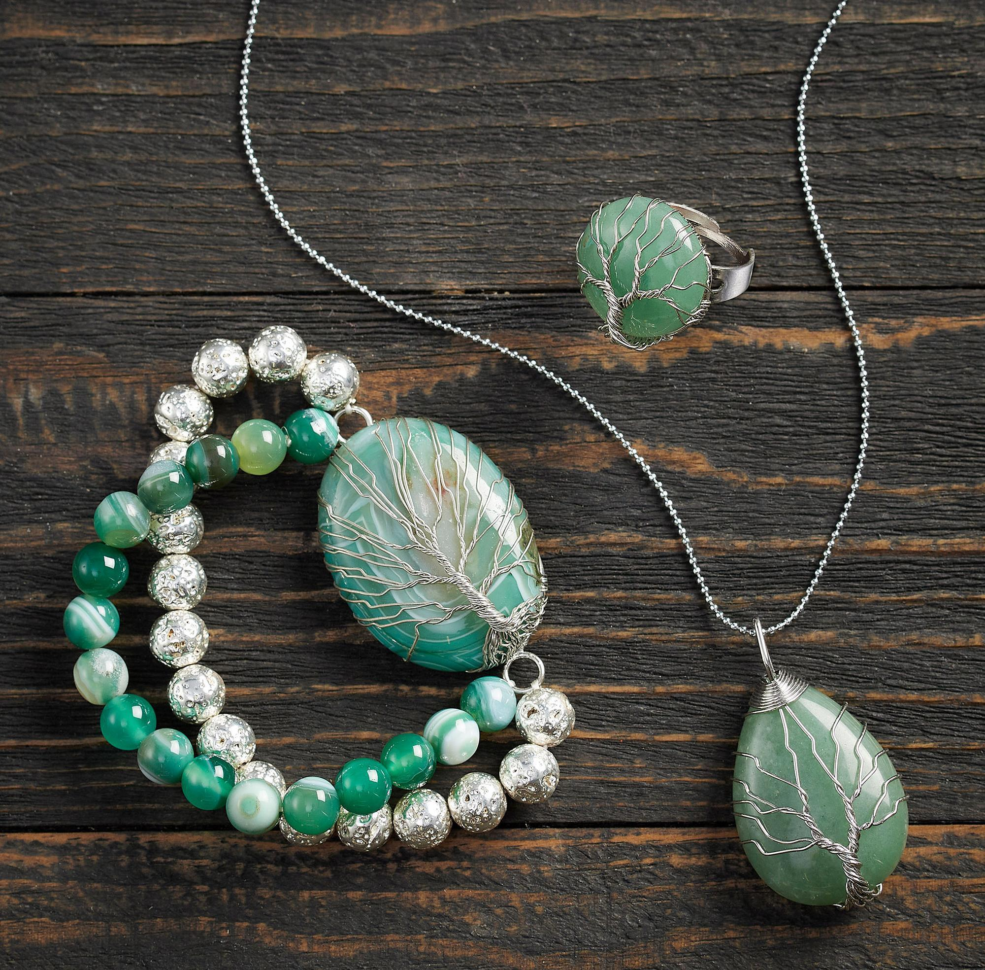 Tree of Life—Green Aventurine