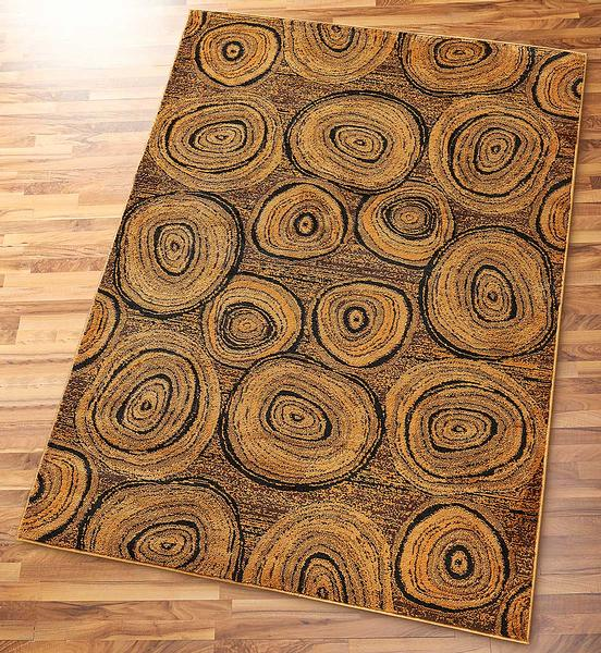 Tree Rings Area Rug Collection