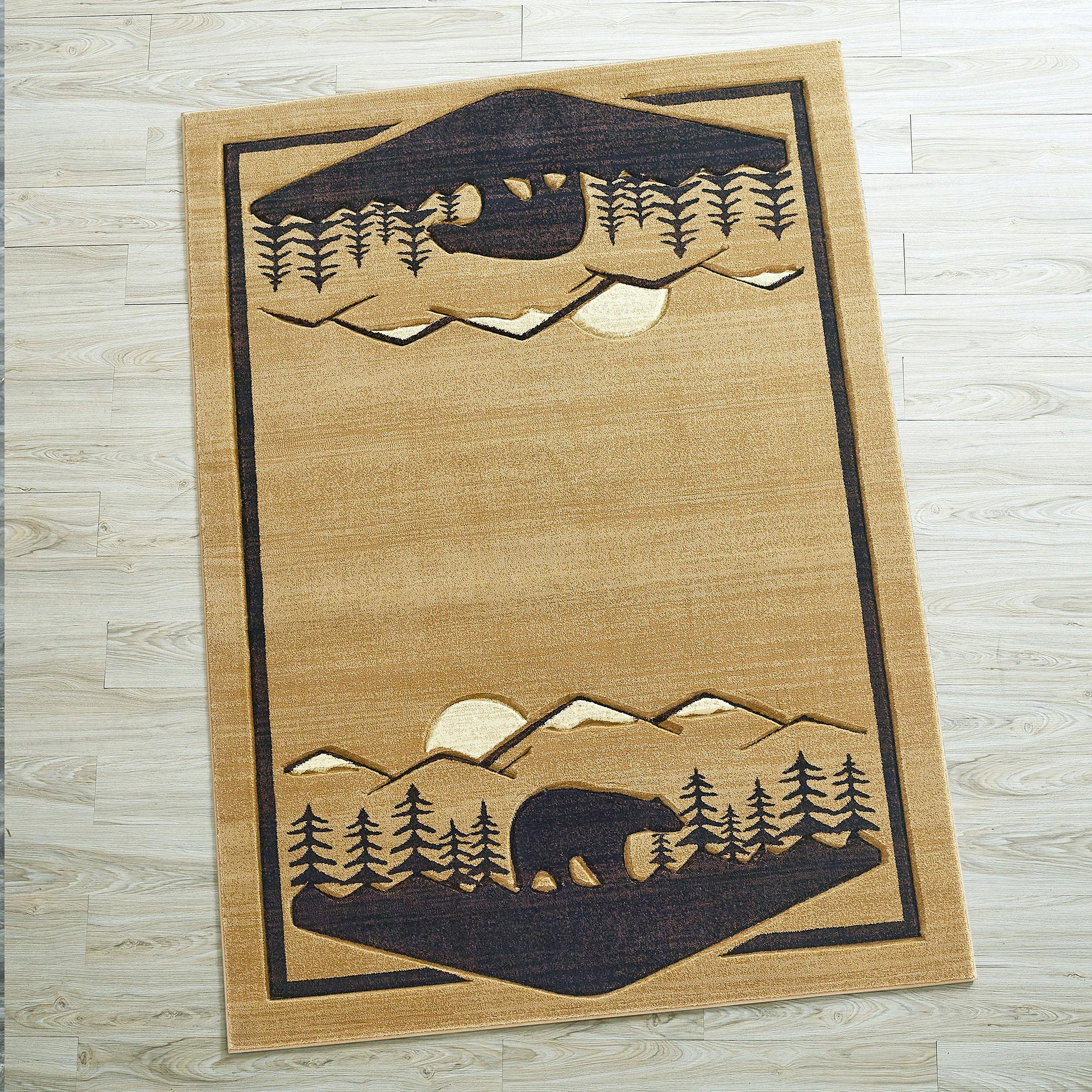 Reach For The Mountains Area Rug Collection