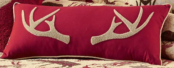 Tufted Antler Pillow