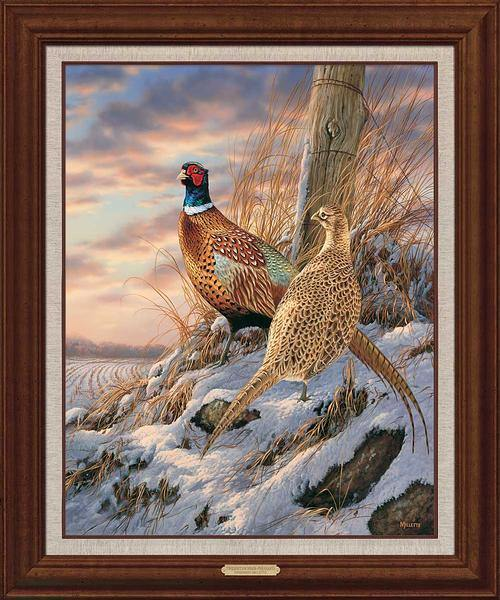 Twilight Escapade—Pheasants.