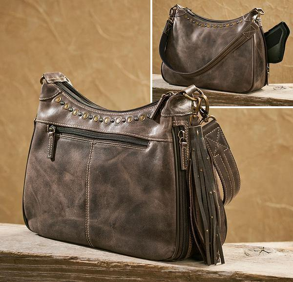 Ultimate Leather Hobo Handbag