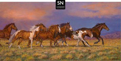 Unbroken—Horses;  Master Artisan Collection — Standard Numbered Edition (SN)