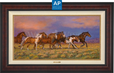 Unbroken—Horses;  Master Artisan Collection — Artist Proof Edition (AP)