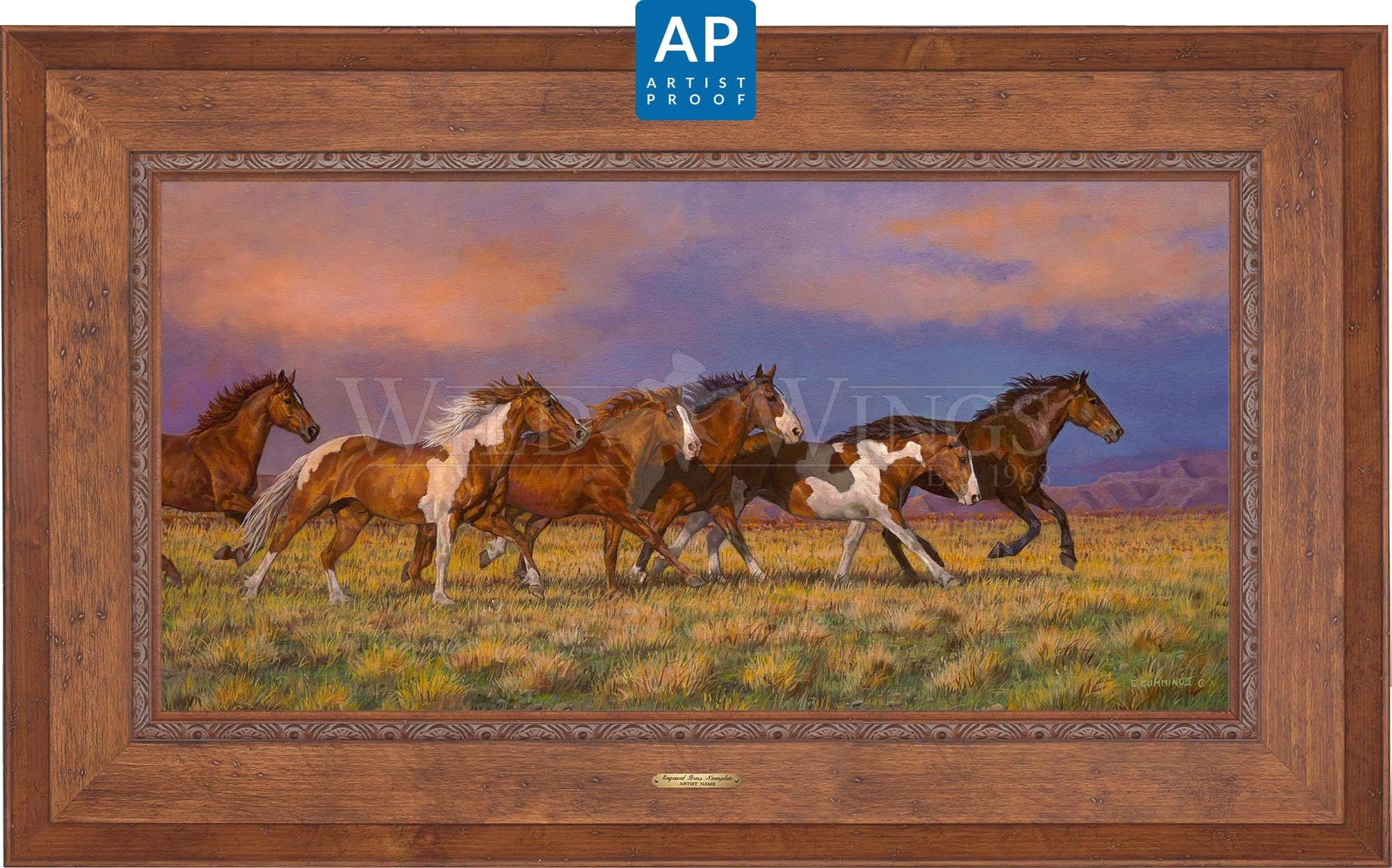 Unbroken—Horses;  Master Artisan Collection — Artist Proof Edition (AP).