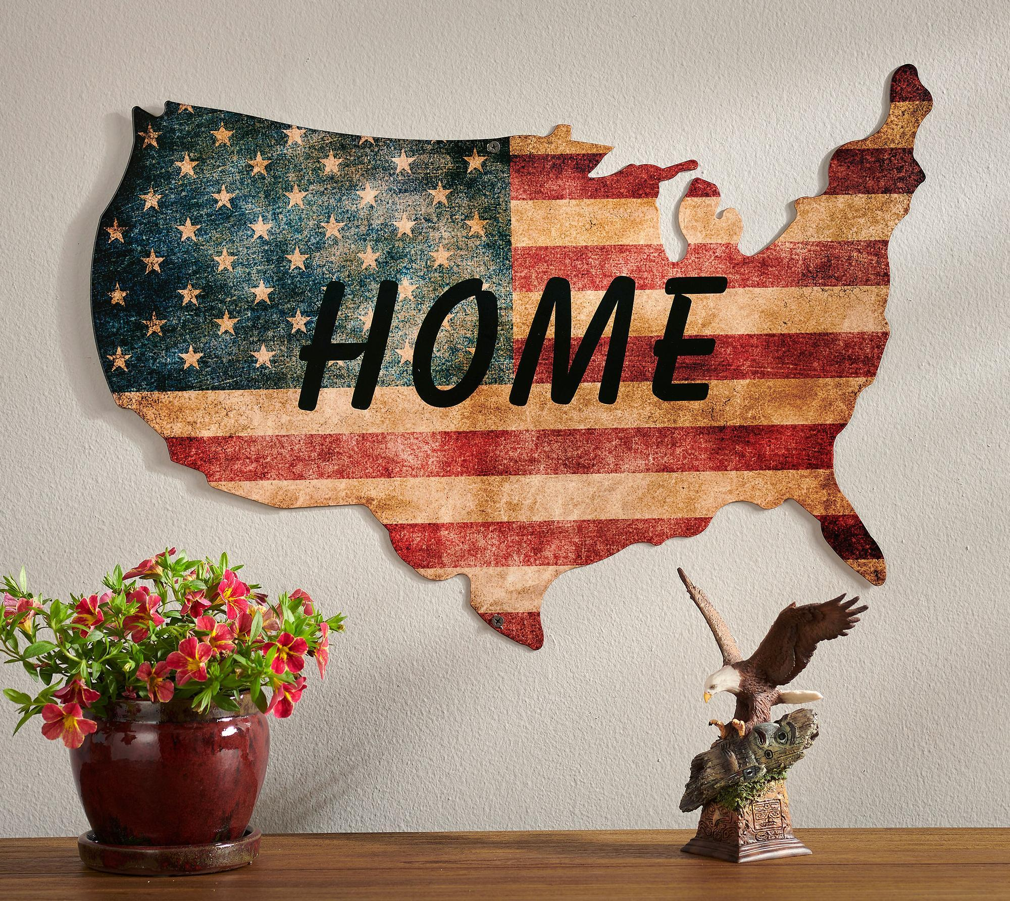 Home USA Flag.
