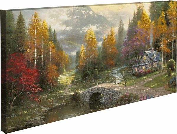 Valley Of Peace Gallery Wrapped Canvas