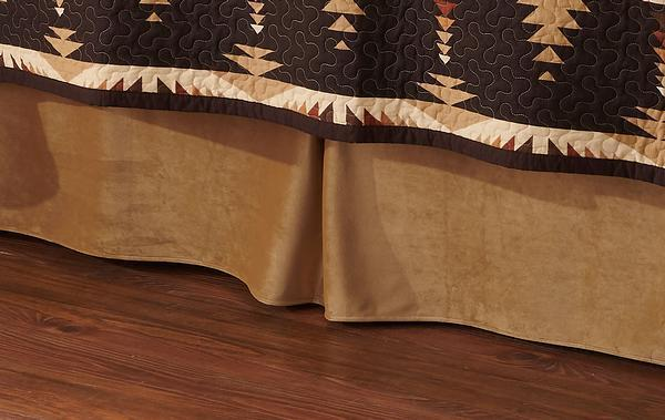 Trading Post Timber Bedskirt