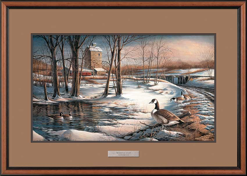 Whistle Stop-Canada Geese Art Collection