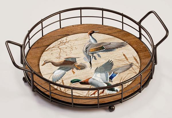 <I>Waterfowl</i> Serving Tray
