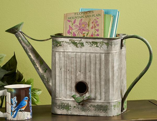 Watering Can Birdhouse.