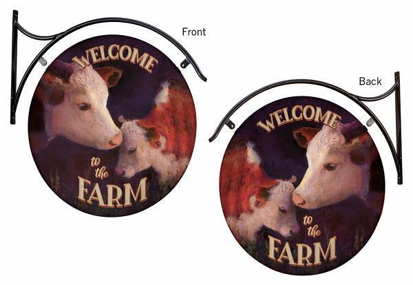 Welcome to the Barn—Cows.