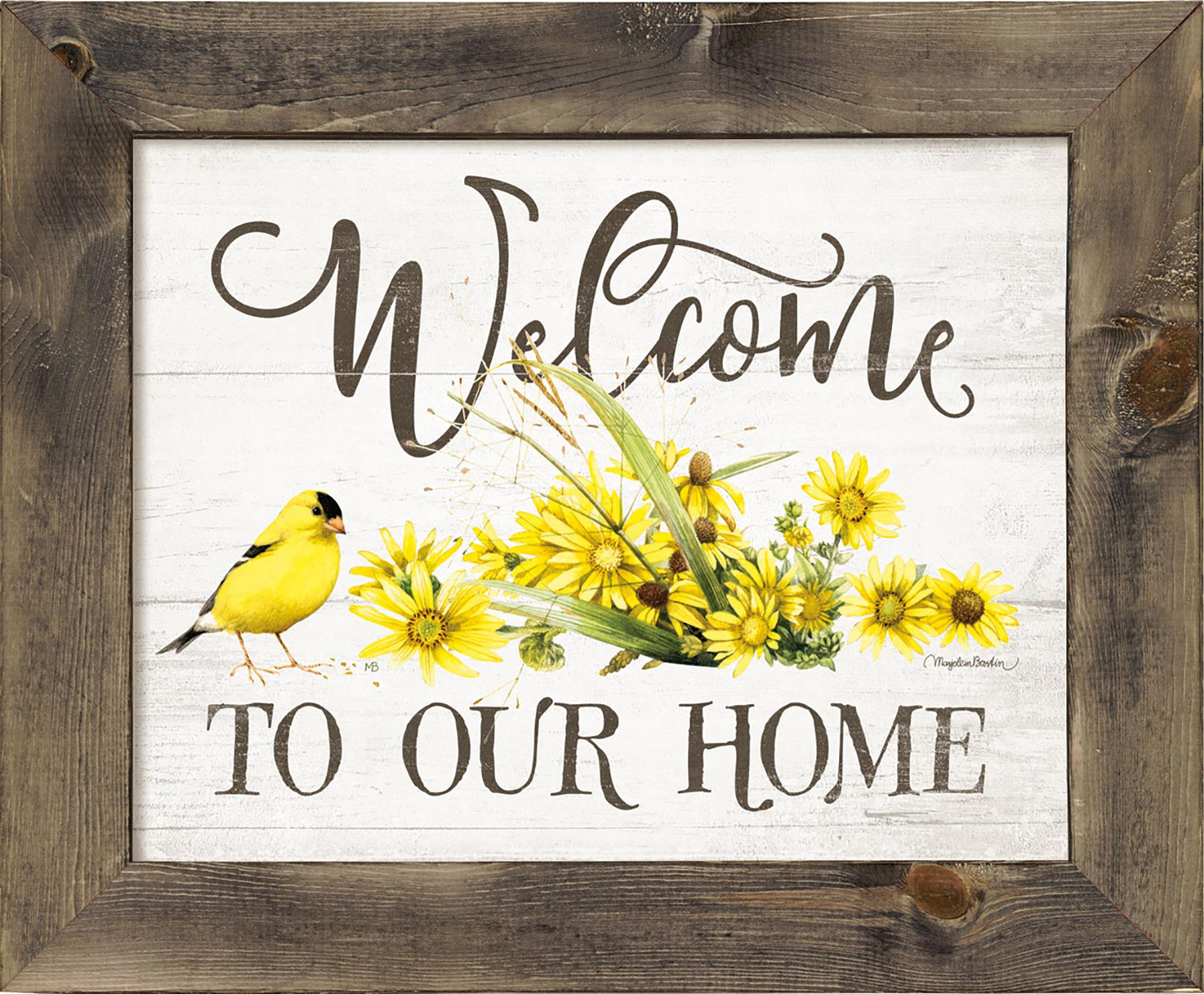 Welcome to our Home—Goldfinch.