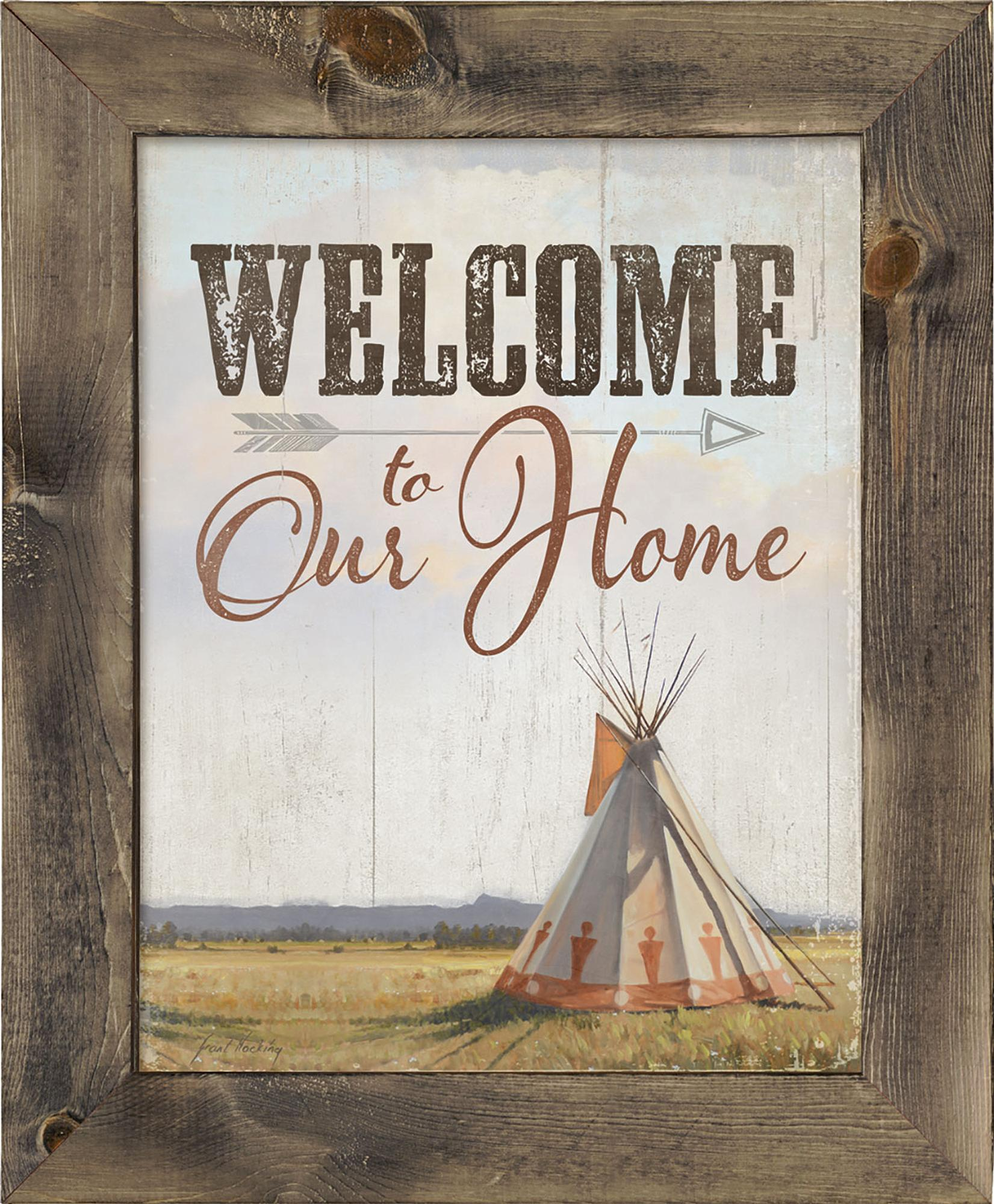Welcome to our Home—Tepee.