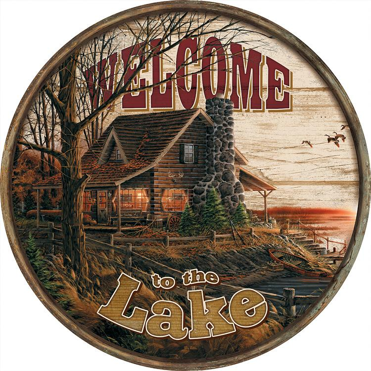 Welcome to the Lake—Cabin