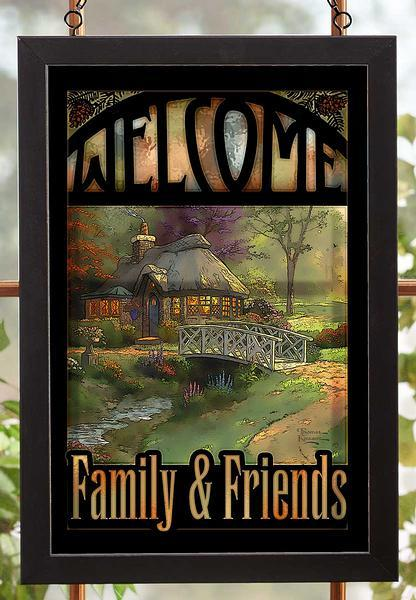 Welcome; Family & Friends