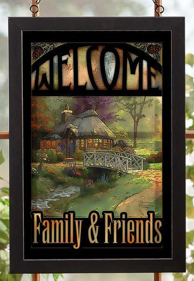 Welcome; Family & Friends.