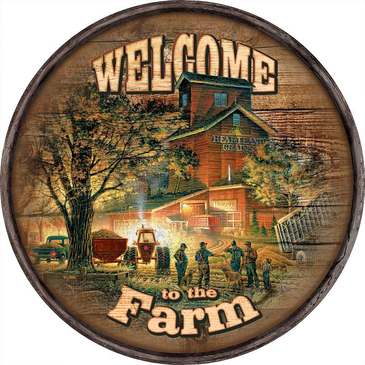 Welcome to the Farm—Harvest