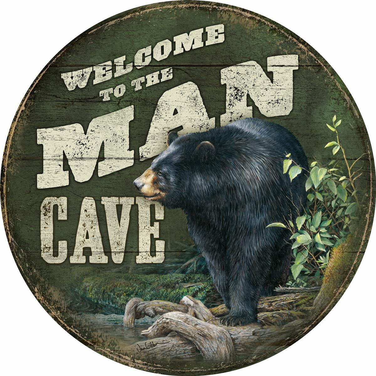Welcome to the Man Cave.