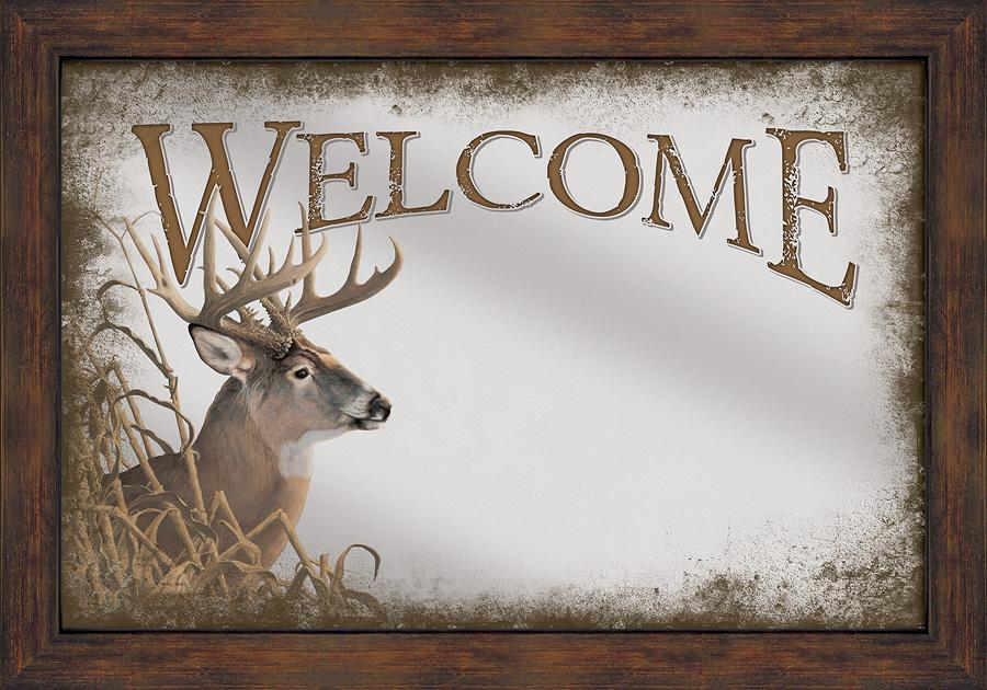 Welcome—Whitetail Deer.