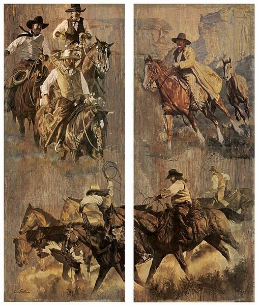 The Western Spirit—Cowboys.