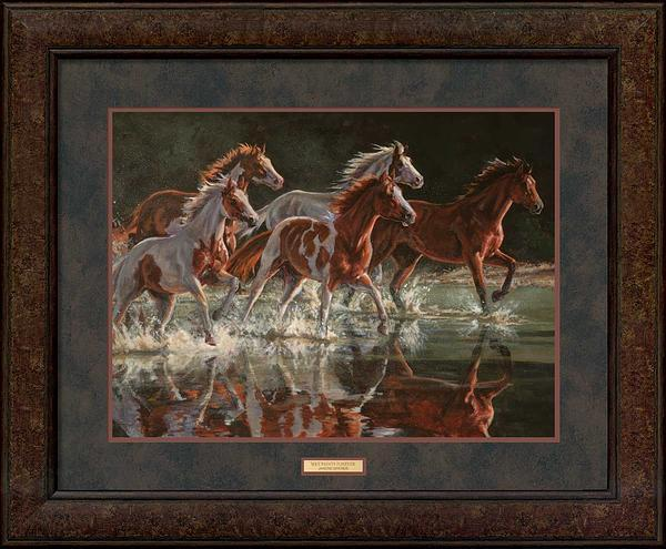 <i>Wet Paints Forever&mdash;Horses</i>