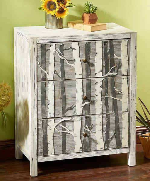 Birch Treasures Cabinet