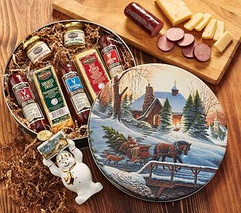 Wild Game Sausage And Cheese Meat Gift Set