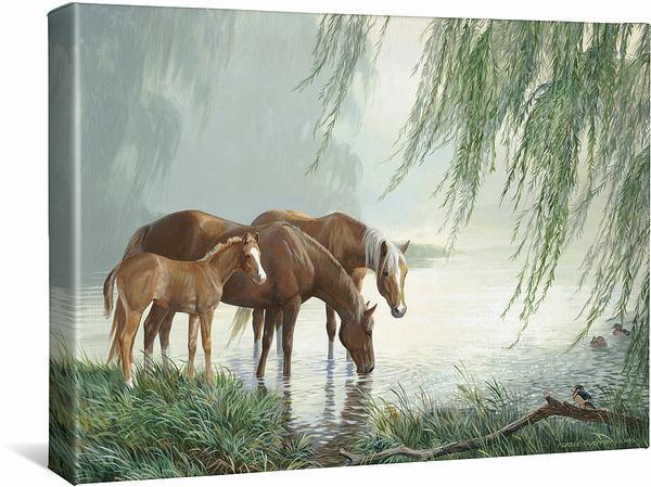 <I>Willow Pond</i> Gallery Wrapped Canvas