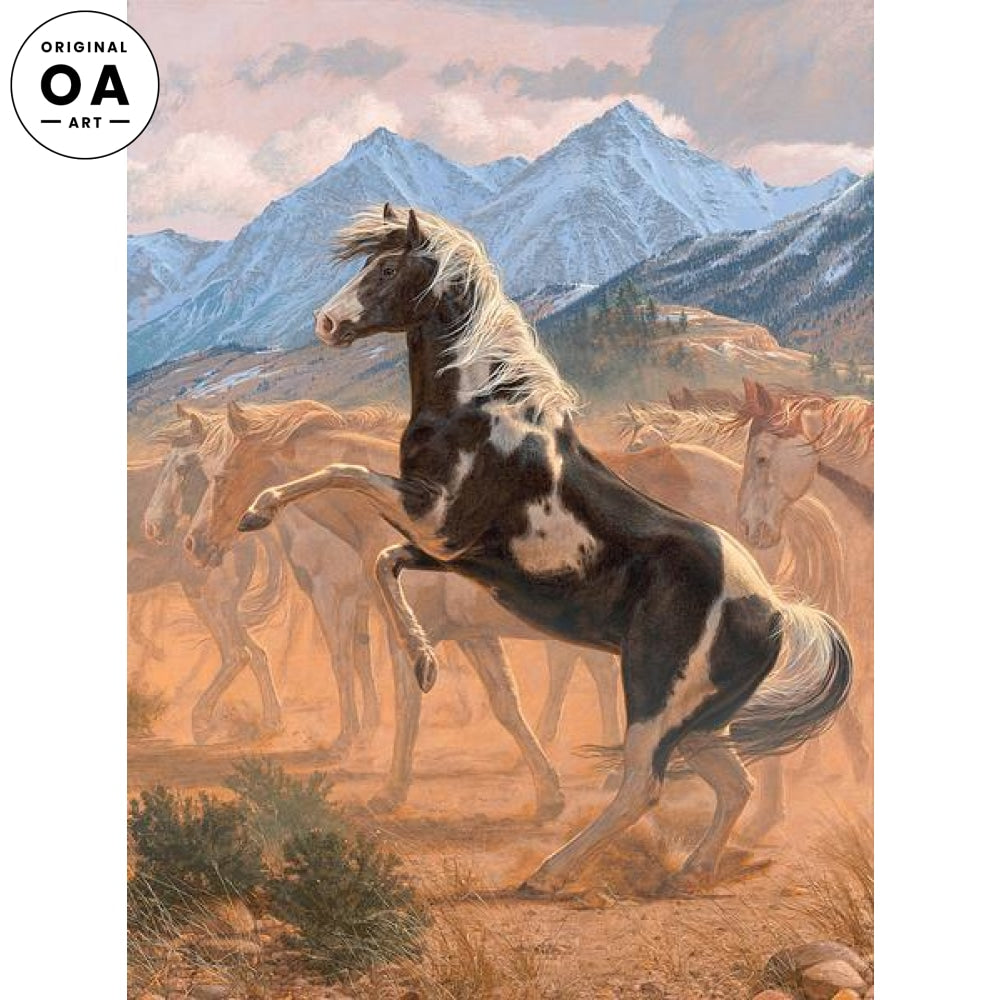 Wind River Scion—Rearing Horse.