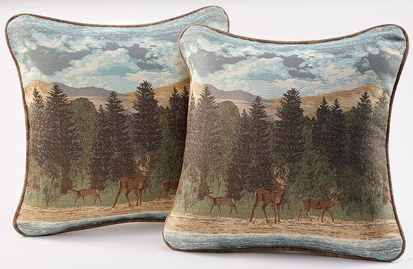 Back Country Scenic Pillow