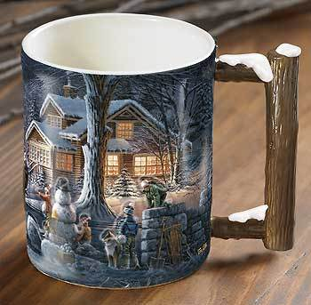 Winter Wonderland Ii Sculpted Mug