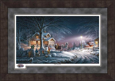 Winter Wonderland Framed Limited Edition Print<Br/>31.50H X 44.50W Art Collection
