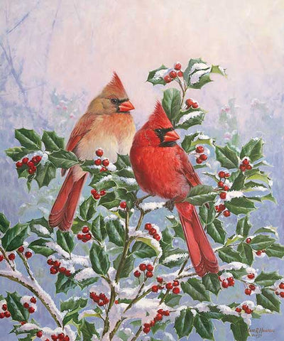 Winter's Splendor—Cardinals.