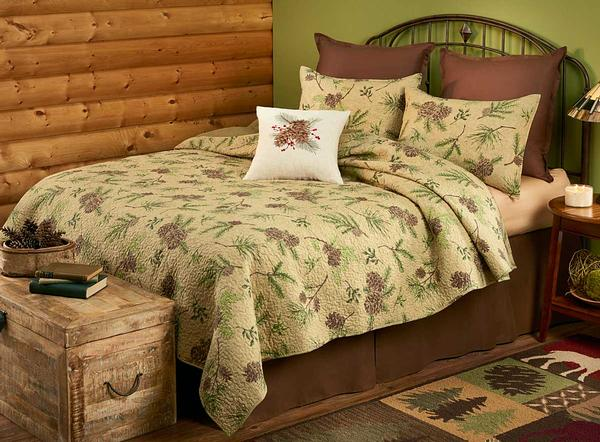 Touched by Pines Bedding Set